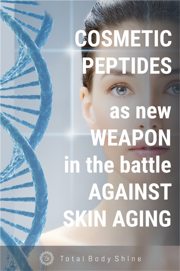 Cosmetic peptides as new weapon in the battle against skin aging   Healthy Living   Beauty   Woman